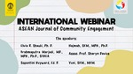 International Webinar AJCE Universitas Indonesia, June 8th 2020